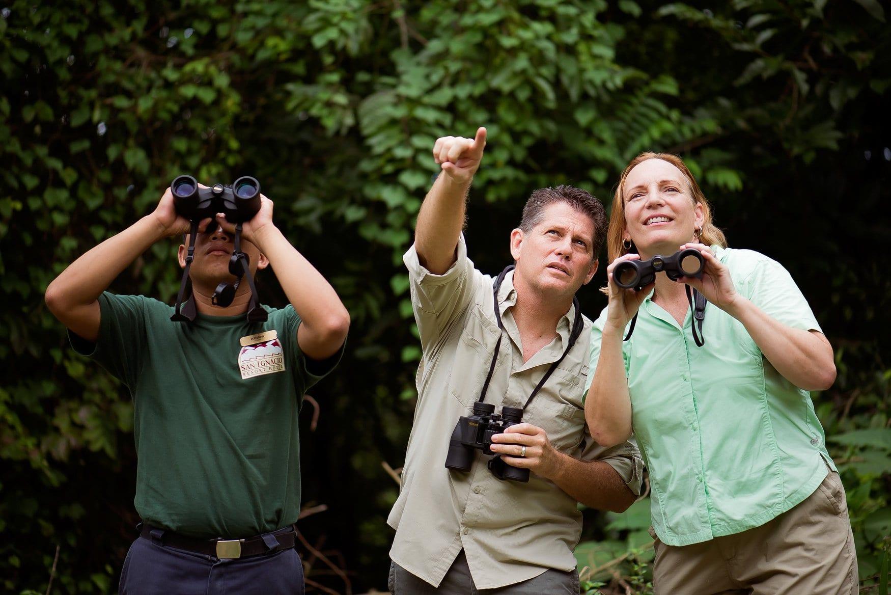 birding tour guide san ignacio resort hotel