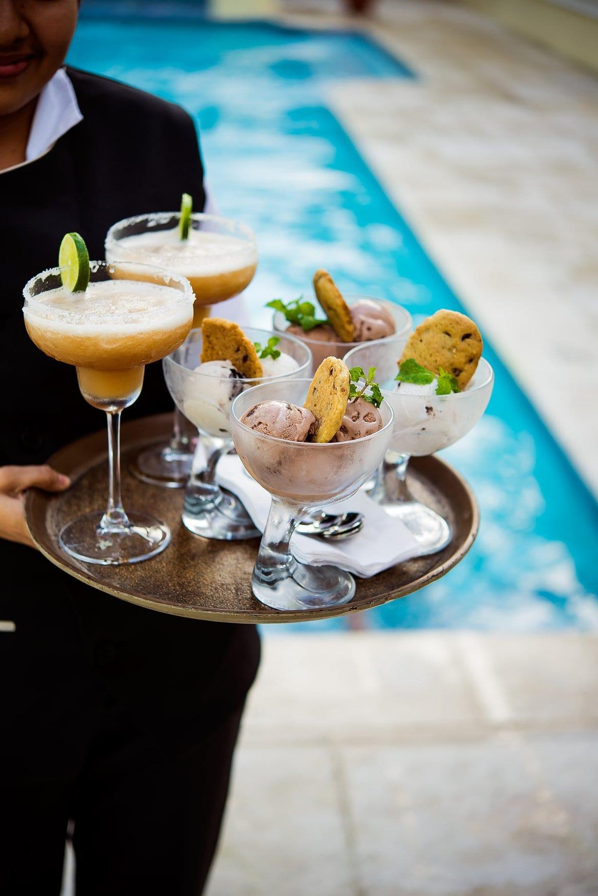 margarita ice cream san ignacio resort hotel pool