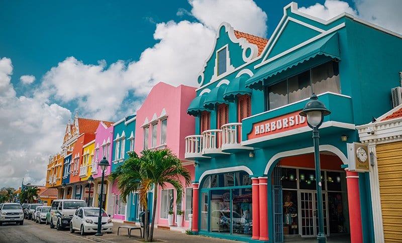 Downtown Kralendijk, the capitol of Bonaire (Tourism Corporation Bonaire)