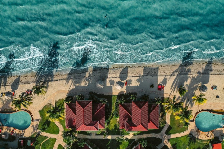 aerial hopkins bay muyono resorts