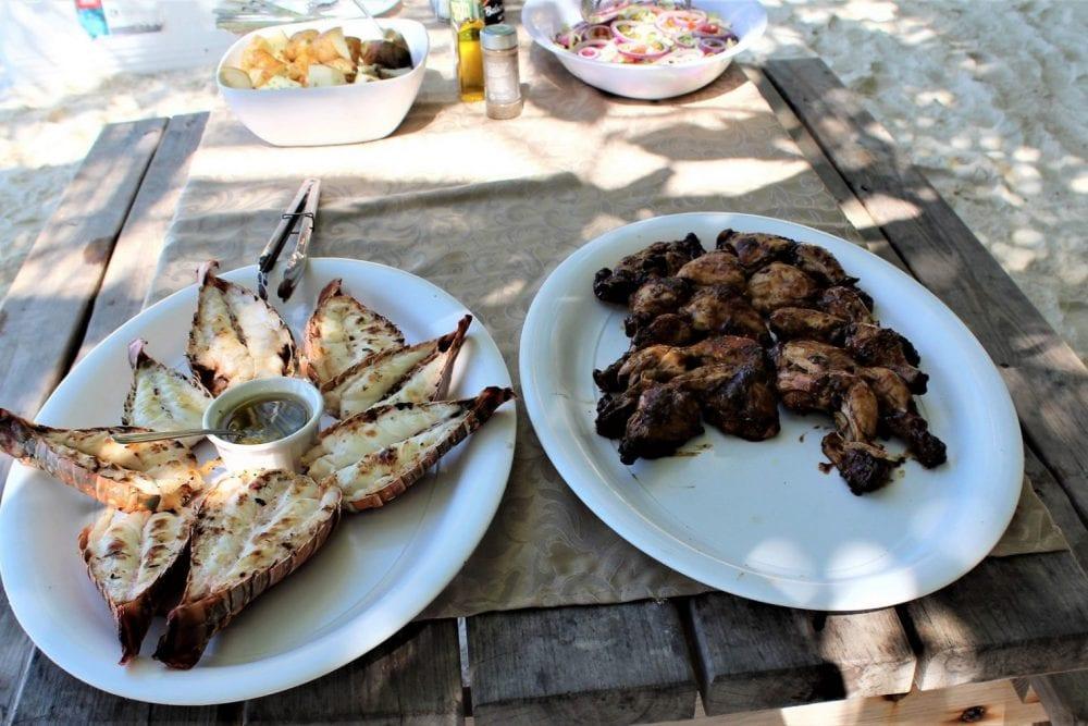 chabil mar grilled lobster belize