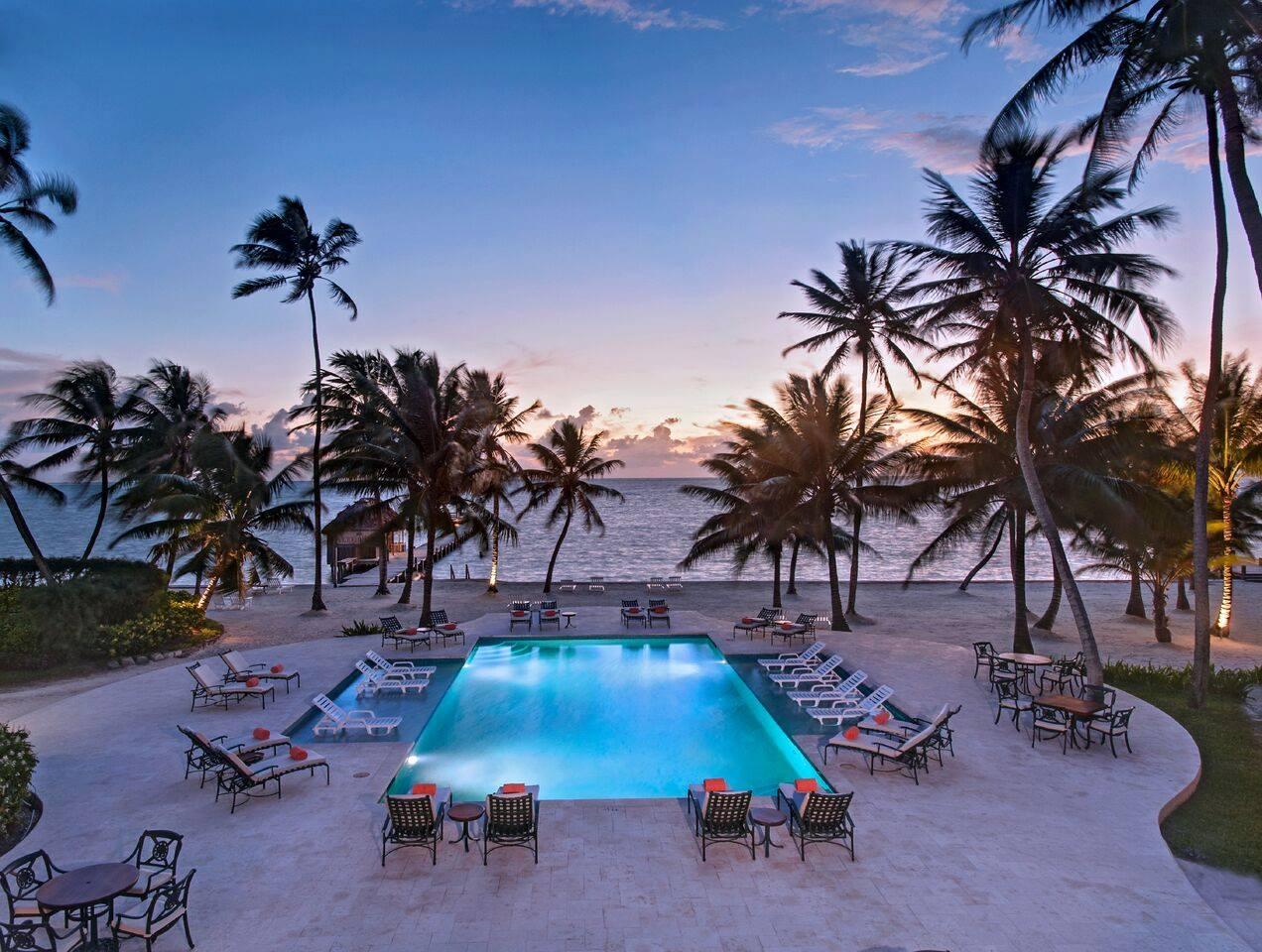 dusk victoria house resort belize san pedro