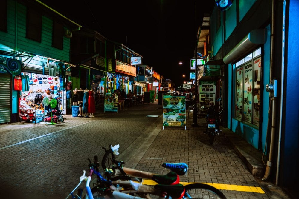 San Ignacio Belize night