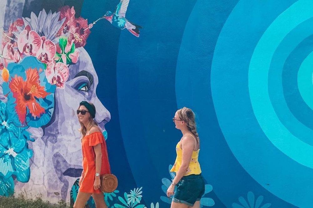 san ignacio roeming belize mural