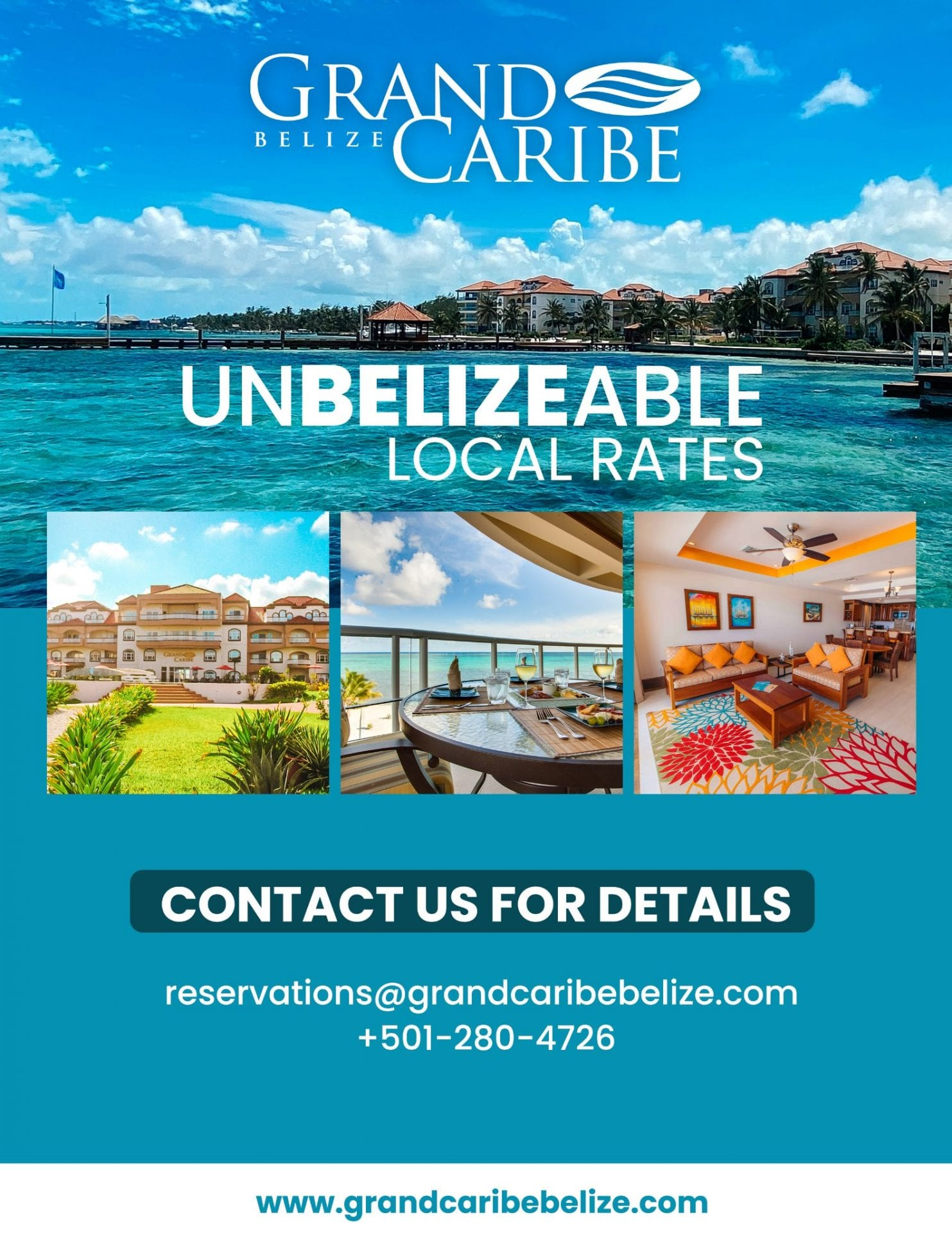 staycation special january 2021 grand caribe belize