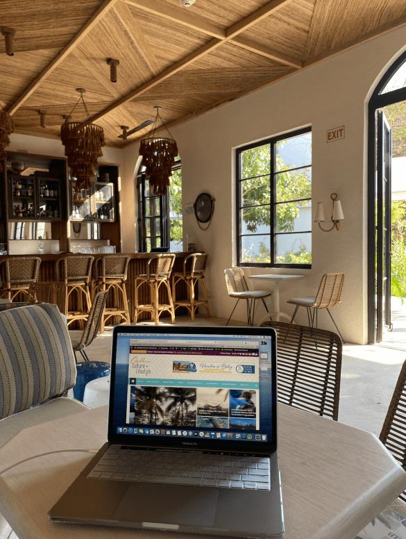 bleisure belize business travel digital Itz'ana