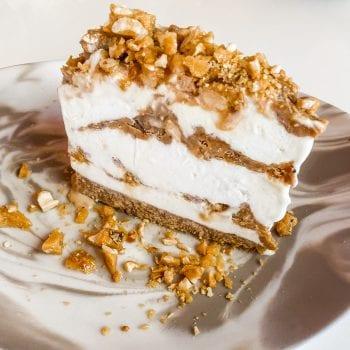 Ice cream cake maya beach bistro belize