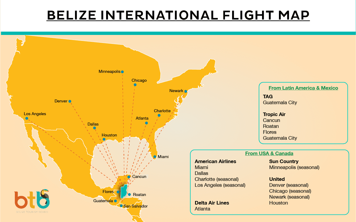 2021-MAR-flight-Map-for-Travel-Belize