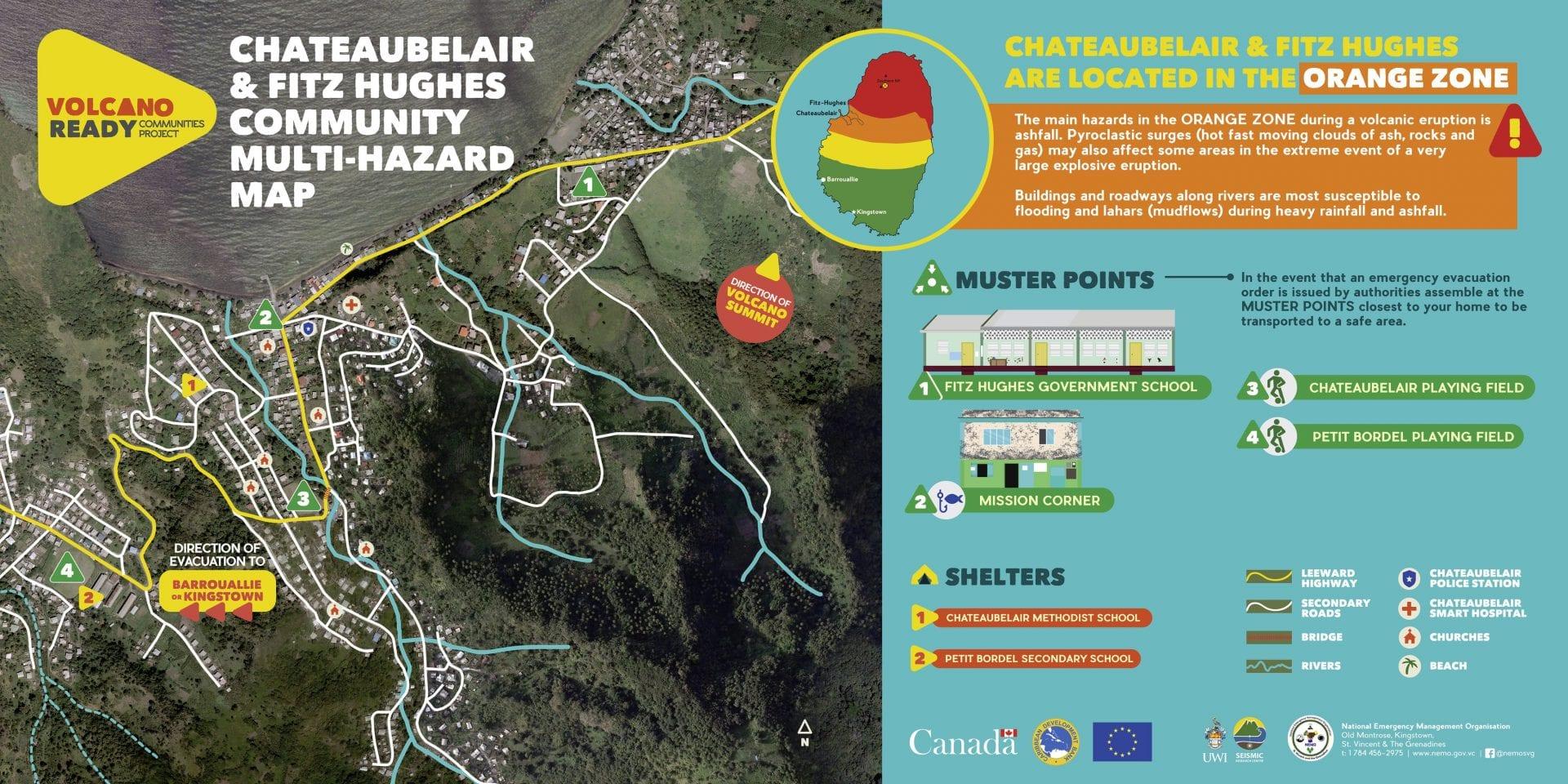 st Vincent grenadines caribbean evacuates volcano