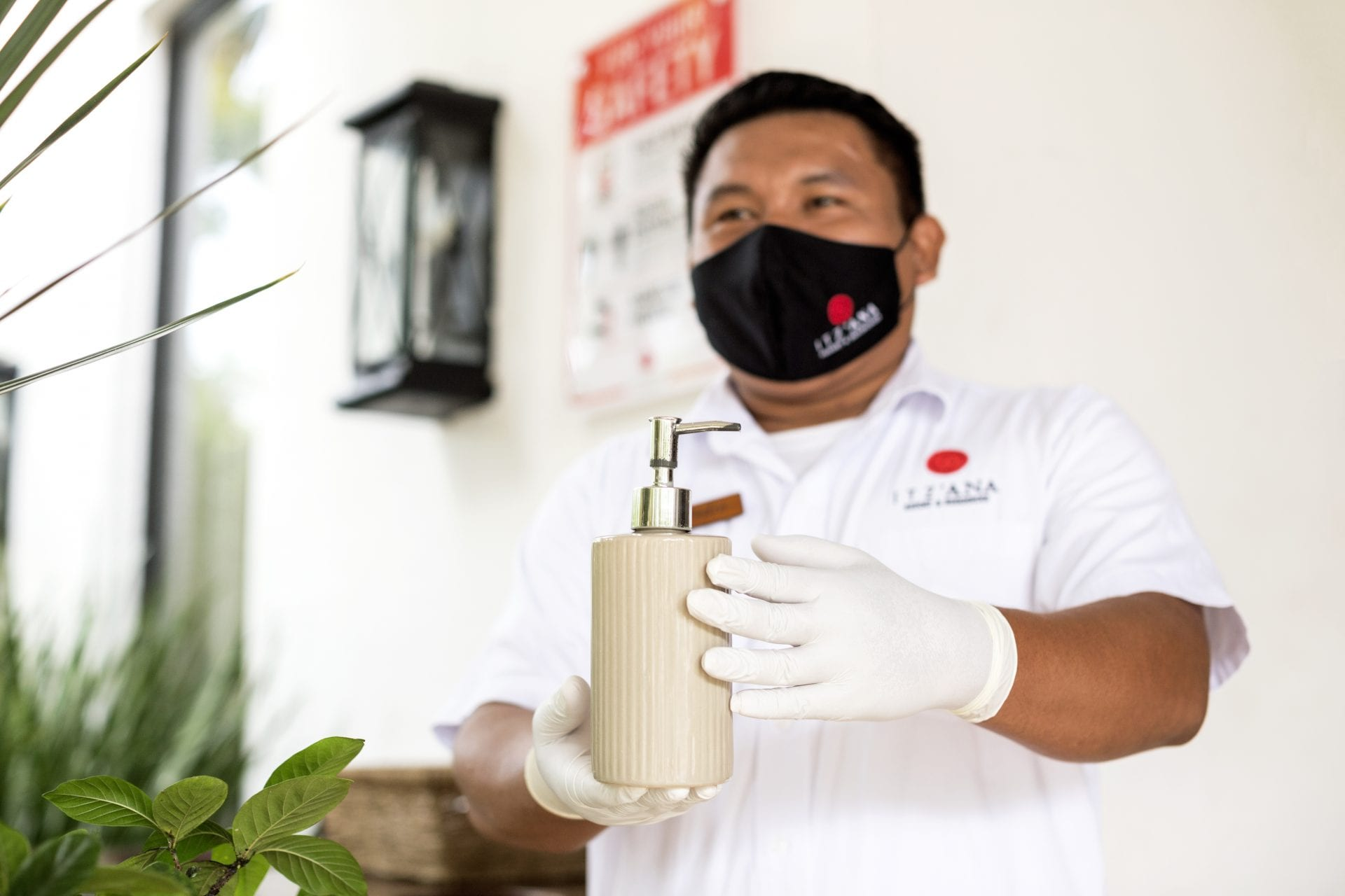 Health and Safety_ Itz'ana Staff belize face mask