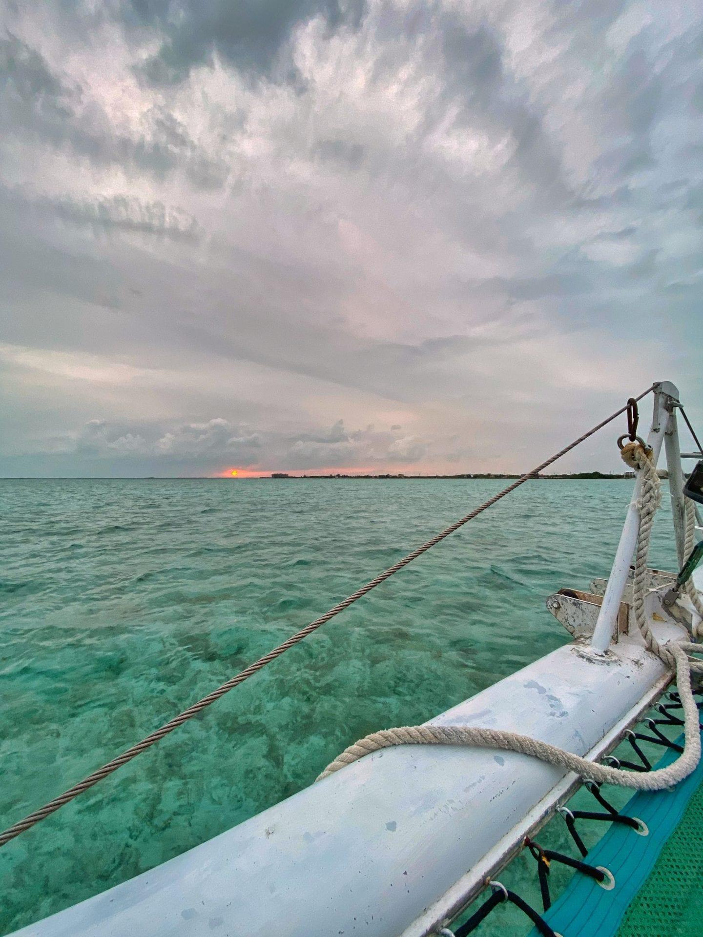sunset xsite San Pedro Belize
