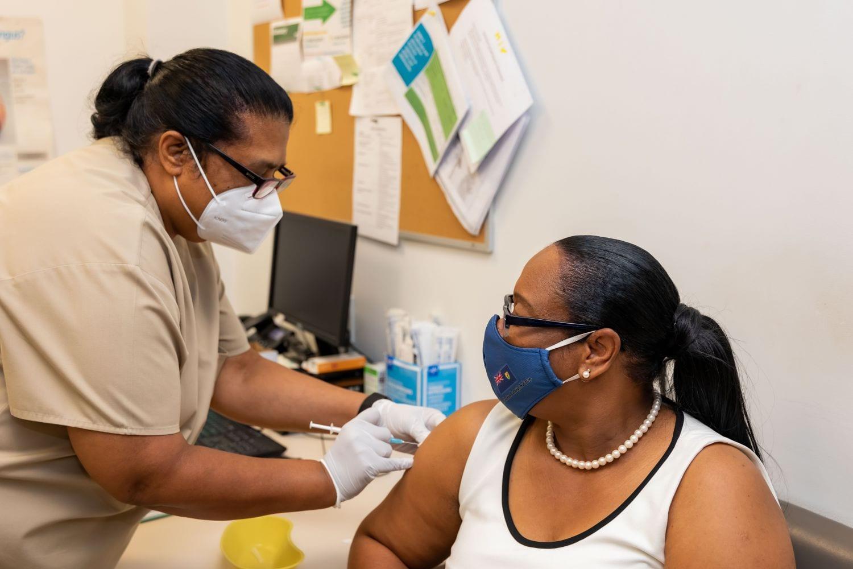 turks and Caicos vaccine caribbean premier