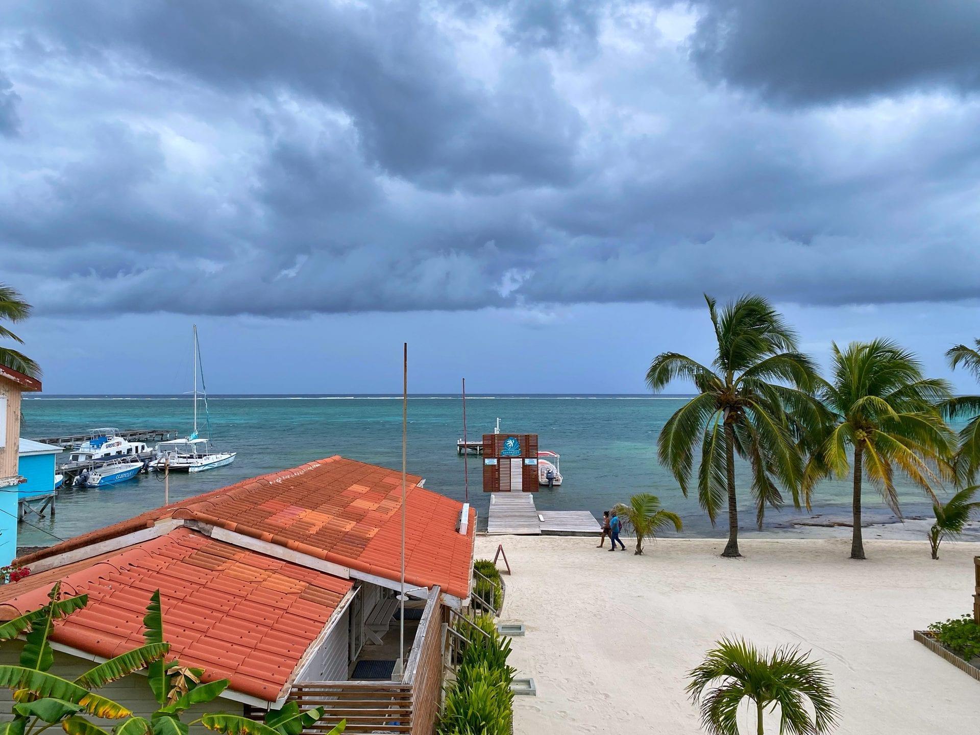 sunbreeze hotel rainy season belize