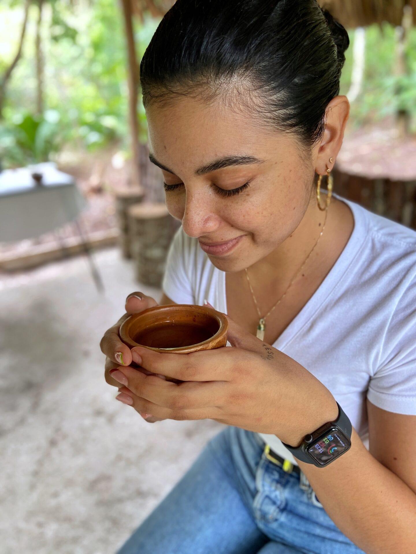 allspice tea medicinal plant trail San Ignacio resort cchanona