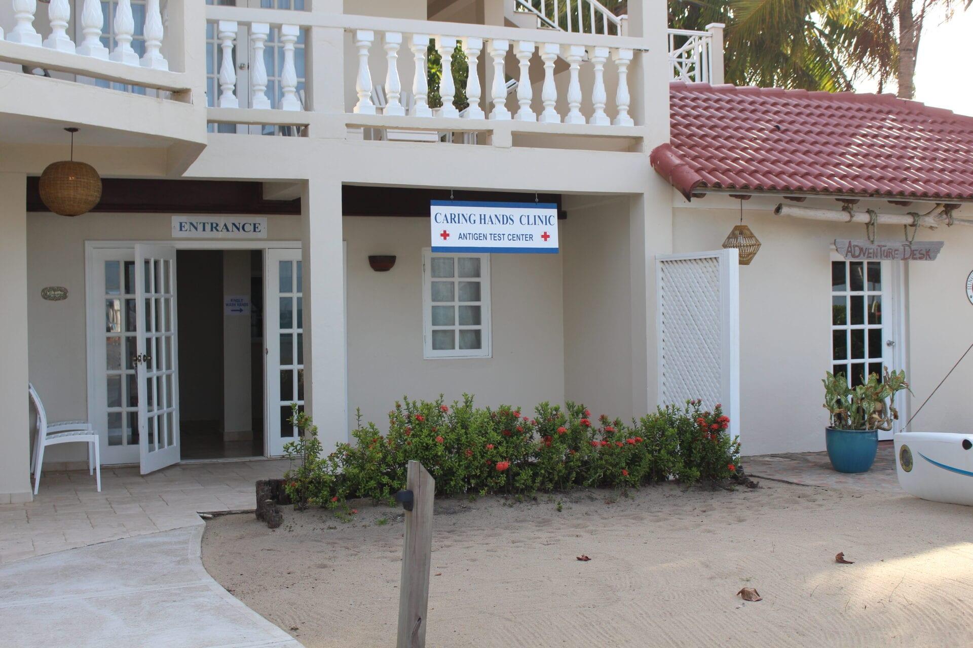 caring hands clinic lodge jaguar reef belize