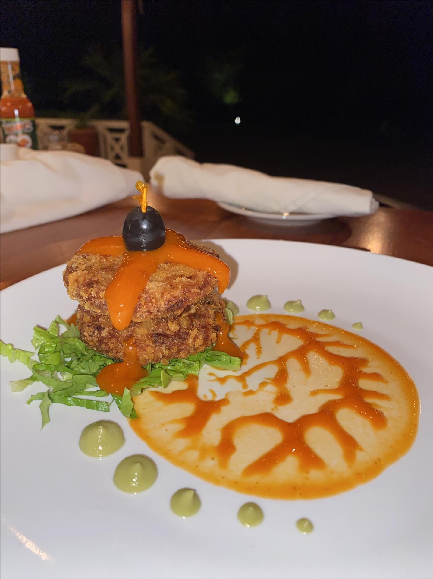 naia-resort-restaurant-belize-placencia-fish-cakes