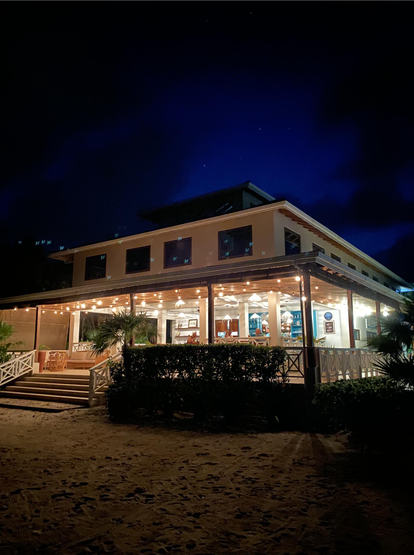 naia-resort-spa-placencia-belize-night