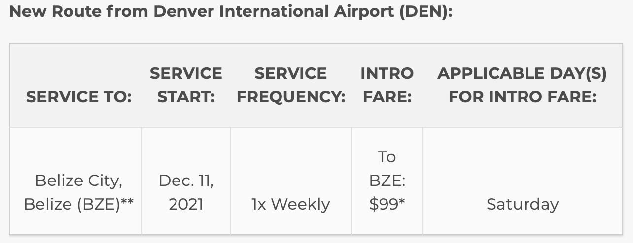 frontier-airlines-belize-service-denver-cheap-flight-rates