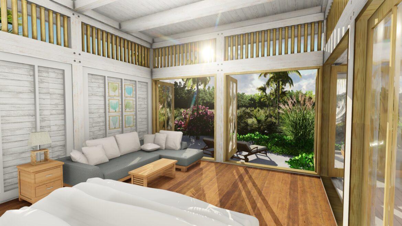 living-area-aruna-villas-resort-belize-ambergris