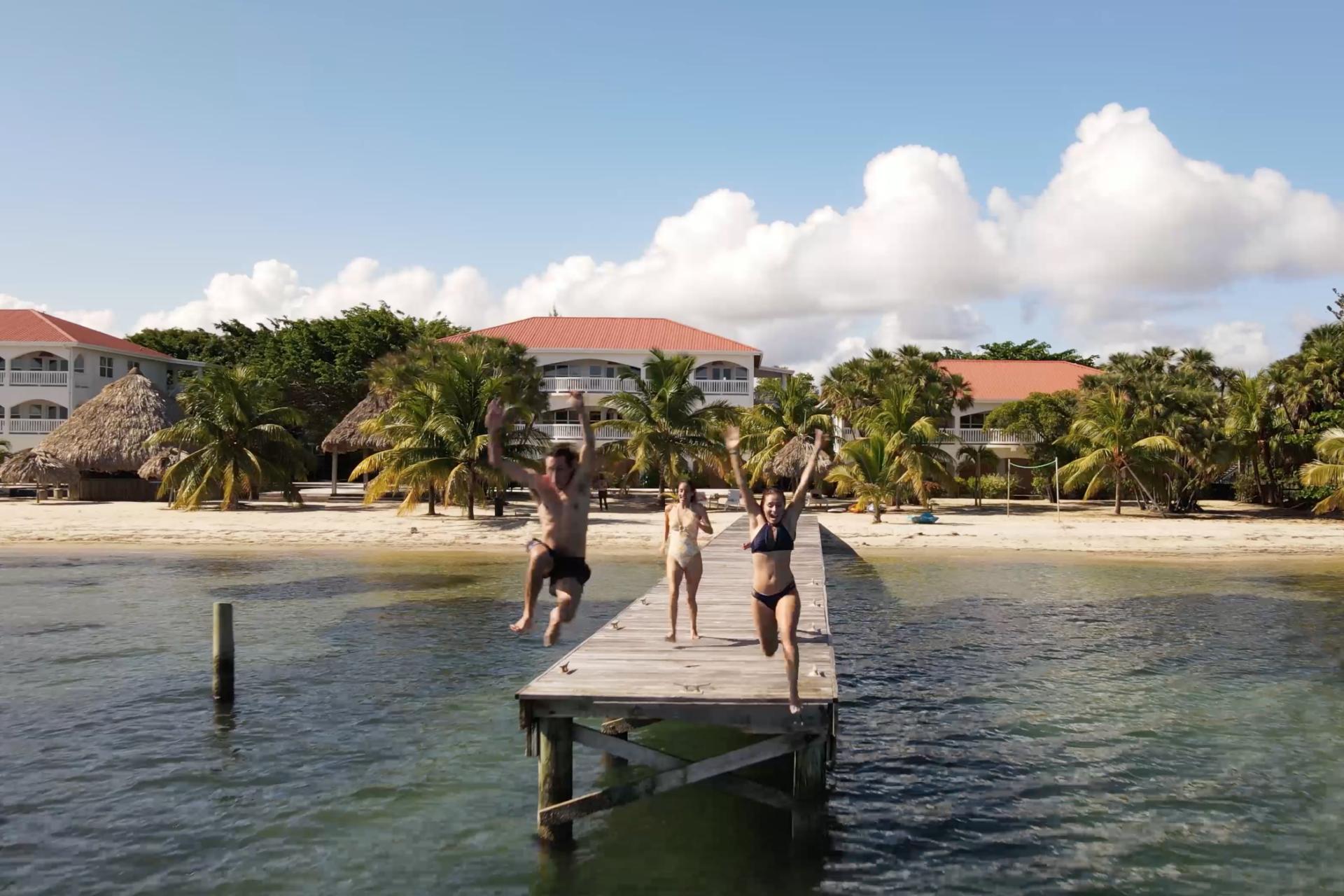 umaya-village-jump-caribbean-sea