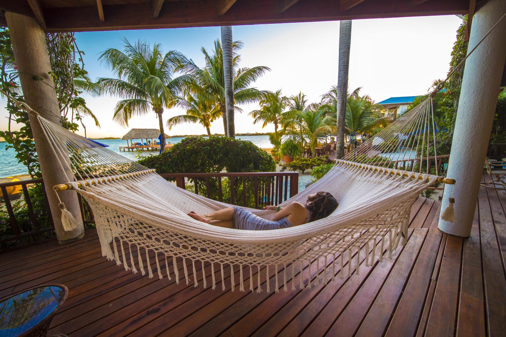 Villa Veranda Hammock Chabil Mar Resort Belize