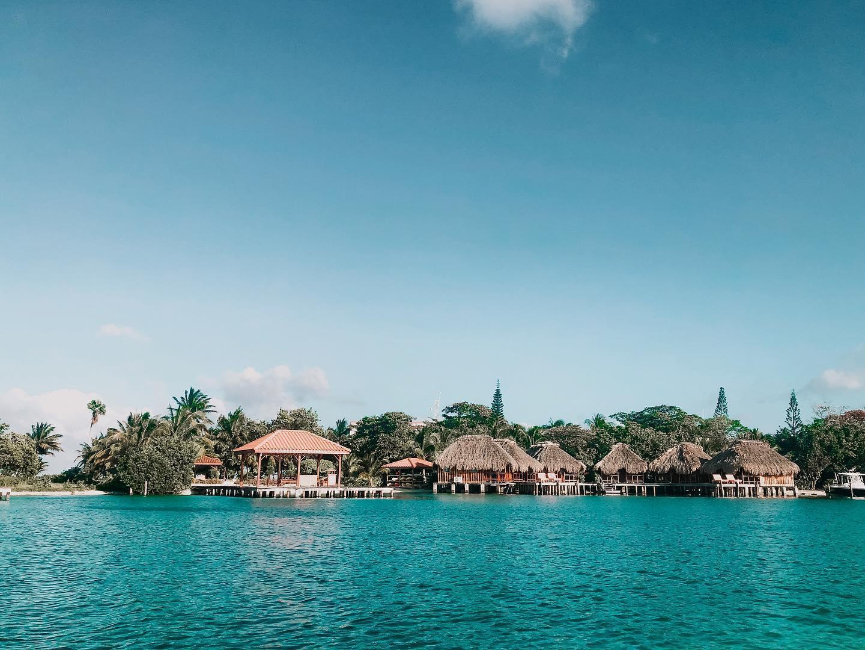 Belize overwater bungalows